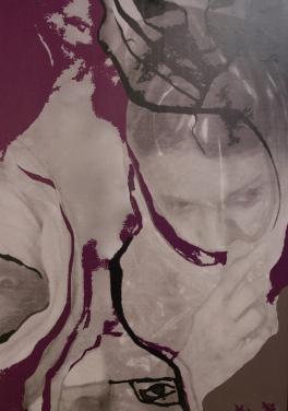 Carcel de Tela Silvana Solari Xilografía 70x100 Precio: $ 5000 ARS
