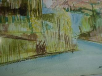 Paisajes Carmen Olivetto 1998 Acuarela 40x30 Precio: $ 2500 ARS