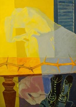 A pesar de la luz Juan Urquiaga Óleo s/madera 90x120 Precio: $ 6000 ARS